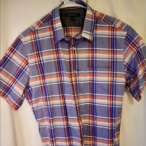 Banana Republic Men's short sleeved plaid